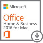 Office Home and Bussiness 2016 for Mac Product Key